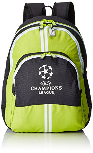 UEFA Champions League ST/AC Mochila, Color Verde