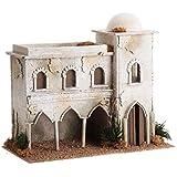 Casa araba con cupola e archi presepe