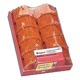 Legrand 200215 Lot de 10 Boîtes à encastrer Batibox, Rouge