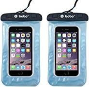 BOBO Universal Waterproof Pouch Cellphone Dry Bag Case for iPhone Xs Max XR XS X 8 7 6S 6 Plus, Samsung Galaxy