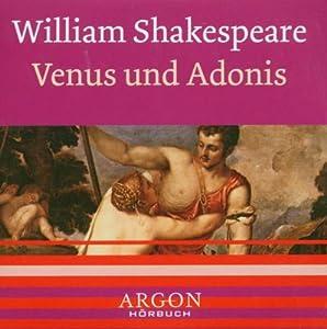 William Shakespeare - Venus und Adonis