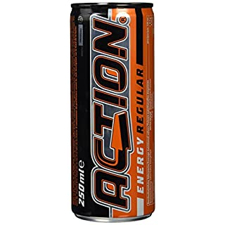 Action Energy Drink inkl. Pfand, 24er Pack (24 x 250 ml)