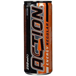 Action Energy Drink pfandfrei, 24er Pack (24 x 250 ml)
