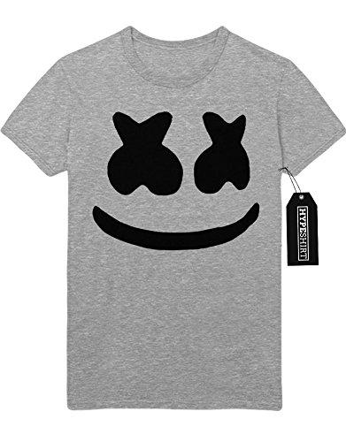 T-Shirt Blink 182 Fake Smiley Logo B960001 Grau