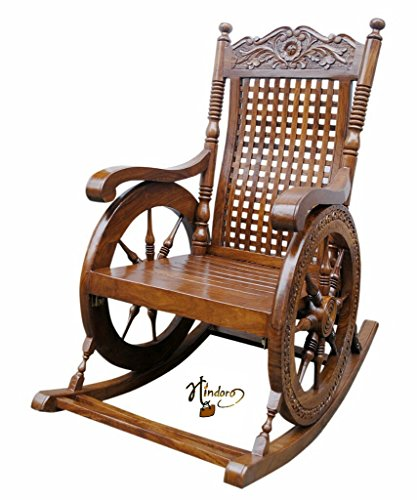 Trust Kart Aamazing Hand Carved Rocking Chair