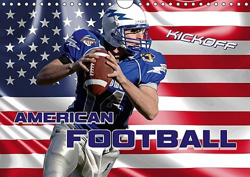 american-football-kickoff-wandkalender-2017-din-a4-quer-aktionsreiche-szenen-aus-der-welt-des-americ