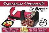 Guillotine à Saucisson Bicolore Fushia Spéciale LAVE VAISELLE Inventée en suisse et rééditée par LE BERGER