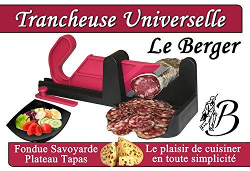Guillotine à Saucisson Bicolore Noir-Fushia Le Berger
