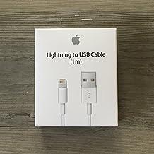 100% original. Lightning USB cable de datos para Original Apple MD818Fe/A cable Cable de carga para iPhone 6, iPhone 6Plus, iPhone 5/5s, iPad Mini