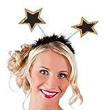 Boland 44163 - Haarreif VIP Stars, Einheitsgröße, Gold