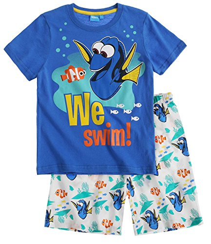 Disney Finding Dory Chicos Pijama mangas cortas 2016 Collection - Azul Disney Finding Dory