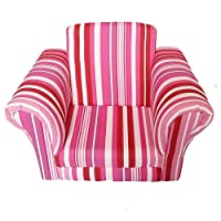HJKH Children Upholstered Sofa For Little Boys Girls Small Sofa Chair With Soft Headrest For Boys Girls Kids