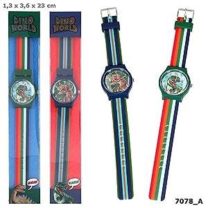 Top Model- Dino World Reloj de Pulsera desilicona (007078), (DEPESCHE 1)