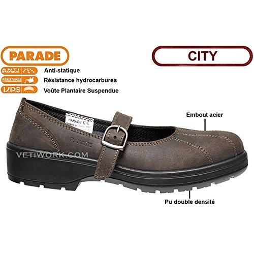 PARADE 07DIAMAN67 55 Chaussure de sécurité ville Pointure 40 Marron