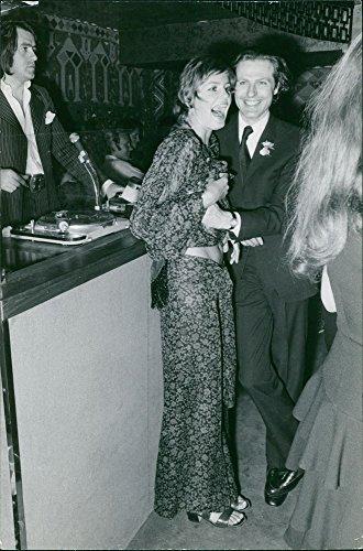 Vintage Foto Di Eric De Rothschild e KISSIA Bartell, sorridente.
