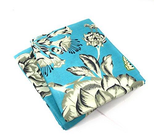 Tache Dekorative Kissenbezüge Modern 20x30 Aqua Floral Butterfly (Kissenbezug Floral 20 X 20)