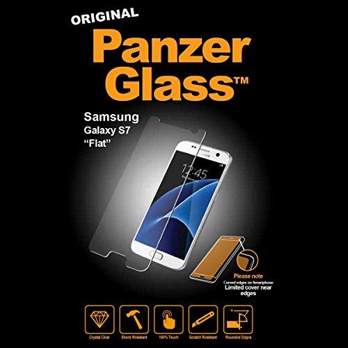 Image of PanzerGlass Displayschutzglas (Anti-Fingerprint); passend für Samsung Galaxy S7, Klar