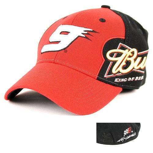 nascar-kasey-kahne-9-budweiser-2-tone-racing-hat-with-adjustable-back-by-nascar