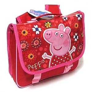 Peppa Pig Red Backpack Satchel