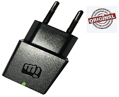 Micromax 0.7 Amp Fast Wall Home Travel Charger (BLACK) with USB Data Cable.