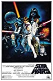 Generic Star Wars Film Foto Poster Vintage Film Kunst Episode IV A New Hope 001 (A5-A4-A3) - A3