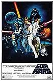 Generic Star Wars Film Foto Poster Vintage Film Kunst Episode IV A New Hope 001 (A5-A4-A3) - A4