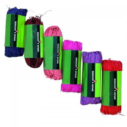 Raphia de couleurs 50 gr