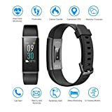 Semaco Fitness Tracker Waterproof Heart Rate Monitor Colour Screen Activity Tracker With Pedometer Sleep Monitor Step Calorie Counter Smartwatch For Kids Men Women
