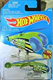 Hot Wheels 2016 Sky Show Skyfire Helicopter 137/250, Green