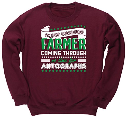 hippowarehouse-super-awesome-farmer-coming-through-no-time-for-autographs-unisex-jumper-sweatshirt-p