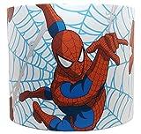 Spiderman Thwip Abat-jour pour enfants garçons Marvel Avengers Comics Chambre Accessoires Cadeaux Veilleuse, blanc, 25,4 cm