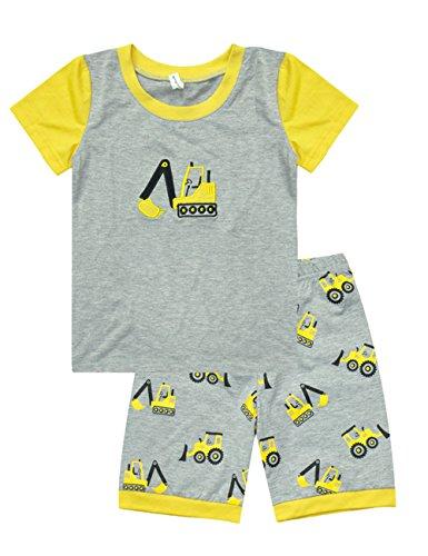 Little Hand Baby Jungen Kinder Sommer Bekleidung zweiteilige Maschine Schlafanzug 98 104 110 116 122