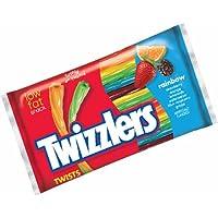 Twizzlers Rainbow Twists Large Pack 351g x1