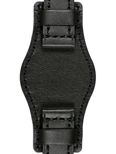 astroavia-uhrenarmband-mit-unterlage-22mm-weiches-kalbsleder-schwarz-edelstahl-dornschliesse-l4u4