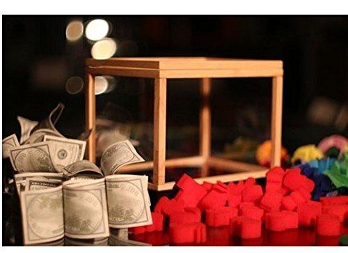 Gowe Illusion Spardose, Dream Box (Geld von Leere Box), Wonder Box, Magic Tricks, Requisiten, Comedy, Mentalismus, Gimmick (Trick Geld-box)