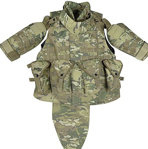 SaySure - OTV Tactical Vest Body Armor With (Fisher Body Shield)