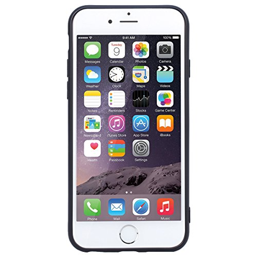 Yokata iPhone 6 Plus / iPhone 6s Plus Hülle Weiche Silikon Handyhülle 3D Motiv Schutzhülle TPU Handy Tasche Schale Etui Weich Silicone Bumper Ultra Dünn Slim Schlank Matt Handytasche Premium Kratzfest Anmerkungen