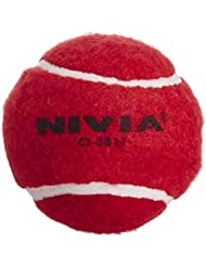 Nivia lourds Balle de tennis Balle de Cricket (Lot de 6)