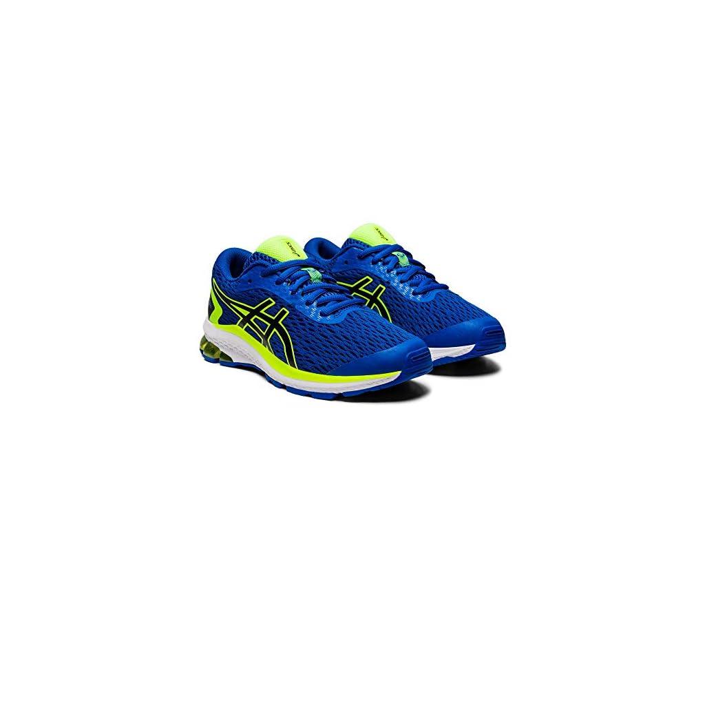 ASICS Unisex Kids' Gt-1000 9 Gs Running Shoe – Directoire Blue Black, 5.5 UK