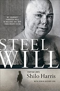 Steel Will: My Journey through Hell to Become the Man I Was Meant to Be (English Edition) di [Harris, Shilo, Cox, Robin Overby]