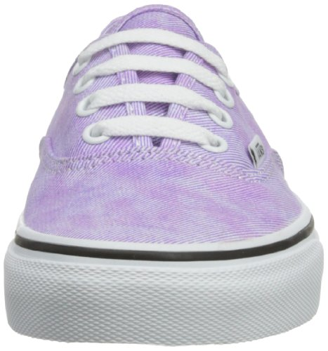 Vans U AUTHENTIC (WASHED) BLACK VVOE4JT Unisex-Erwachsene Sneaker Violett ((Sparkle) viole)