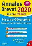 Annales Brevet 2020 Histoire-Géographie-EMC...