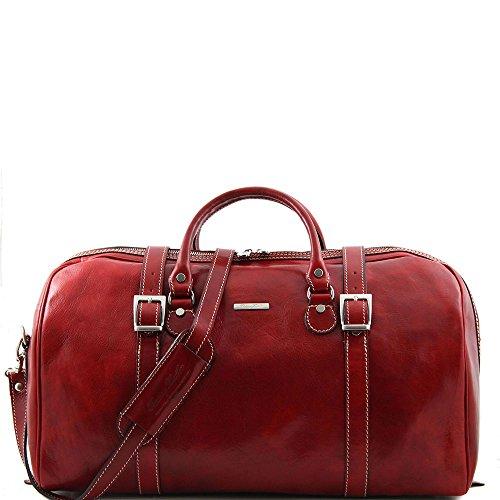 Tuscany Leather, Borsa a spalla uomo Rosso rosso Taille Unique