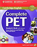 Complete PET for Spanish Speakers Student's Book with Answers with CD-ROM Cambridge University Press