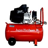 #8: JAGAN HARDWARE Iron Portable Air Compressor (50L, 5HP)