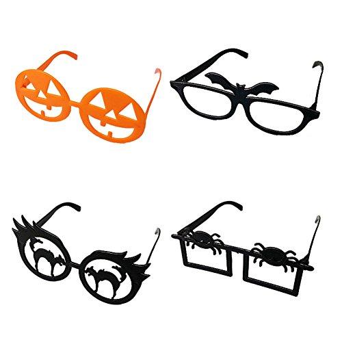 4x Kostüme Halloween Für (4x Demarkt Halloween Party Brille Halloween Cosplay Kostüm Zubehör aus)