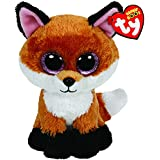 Ty - Ty36159 - Peluche - Beanie Boo's - Slick Le Renard - Taille au choix