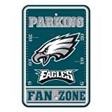 NFL Philadelphia Eagles Plastic Parking Sign
