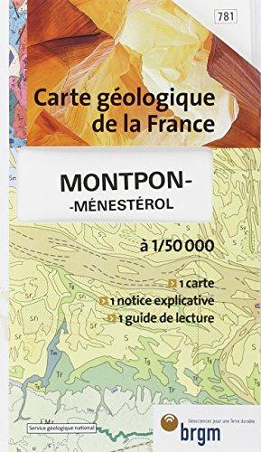 Carte géologique : Montpon