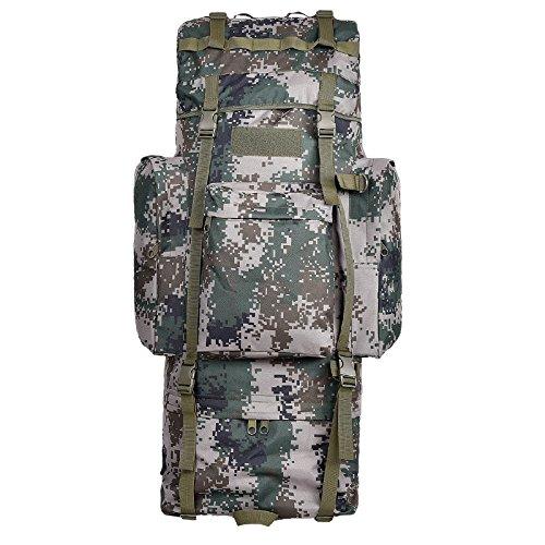 GOUQIN Outdoor Rucksack Klassische Mode Von Outdoor Dual Umhängetaschen 100 L Masse Klettern Taschen Wandern Paket Tasche Uhr